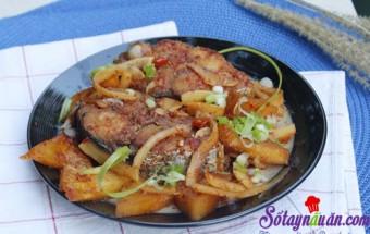 Nấu ăn món ngon mỗi ngày với Dứa, Cá kho cùi dừa