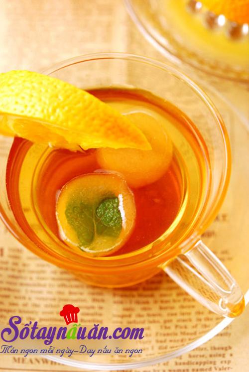 Cách làm trà cam táo