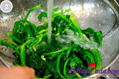 Cải trộn chua ngọt 2