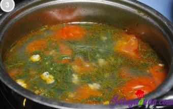 nấu canh ngon, Canh hến nấu chua 3