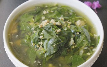 Nấu ăn món ngon mỗi ngày với Thịt nạc, Canh rau ngót nấu tôm thịt