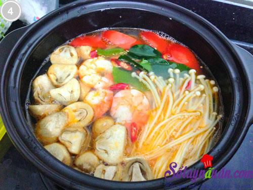 Canh tôm chua kiểu Thái 3