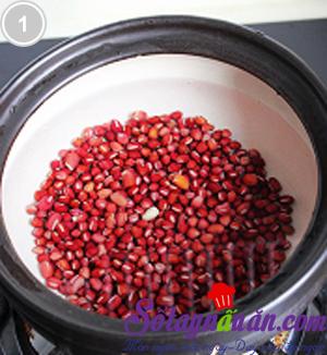 Chè thạch đậu đỏ 1