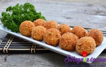 Nấu ăn món ngon mỗi ngày với Thịt nạc xay, Khoai tây viên chiên