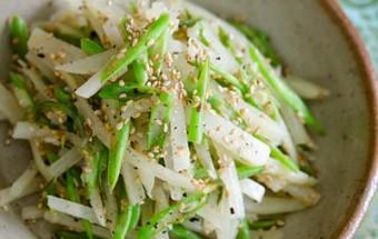 Nấu ăn món ngon mỗi ngày với Vừng rang, Khoai tây xào đậu cove