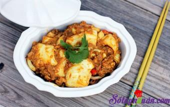 Nấu ăn món ngon mỗi ngày với Mực ống, Mực ống xào cà ri