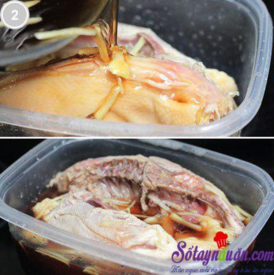 Mỳ trộn gà xì dầu 2