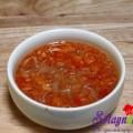 canh bầu, Nộm sứa chua ngọt 4