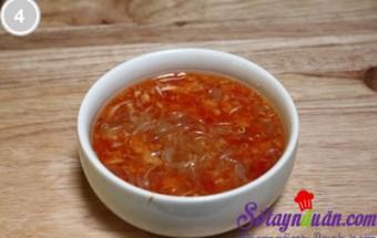 Nấu ăn món ngon mỗi ngày với Dứa, Nộm sứa chua ngọt 4
