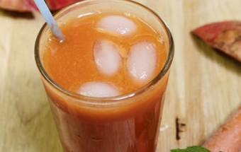 Nấu ăn món ngon mỗi ngày với Cam, Nước ép cà rốt đẹp da
