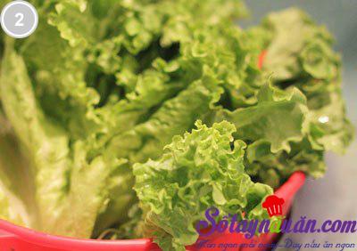 Salad rau mầm tươi 2