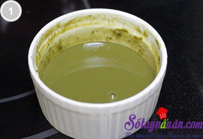 Sữa chua trà xanh 1