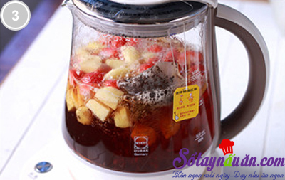 Thanh mát trà trái cây 3