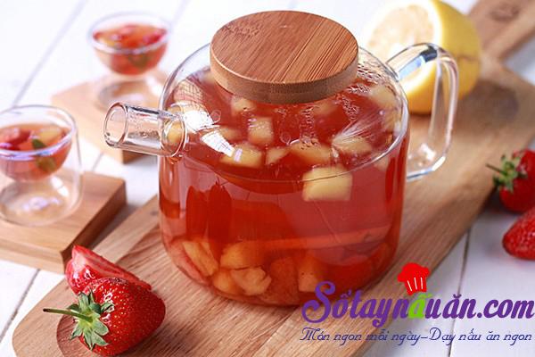 Thanh mát trà trái cây
