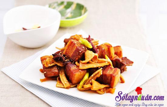 Thịt ba chỉ kho củ cải khô-Sổ tay nấu ăn|Món ngon mỗi ngày|Dạy nấu ăn