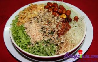 Nấu ăn món ngon mỗi ngày với Lạc rang, Bún hến xứ Huế
