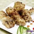 các món ăn từ thịt gà, Cánh gà rán tỏi