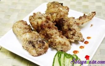 Nấu ăn món ngon mỗi ngày với Cánh gà, Cánh gà rán tỏi