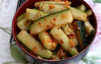 Nấu ăn món ngon mỗi ngày với Táo, Kim chi dưa chuột