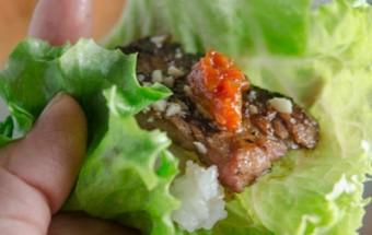 Nấu ăn món ngon mỗi ngày với Kiwi, Sườn nướng Hàn Quốc