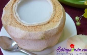 Nấu ăn món ngon mỗi ngày với Bột rau câu, Thạch dừa rau câu 1