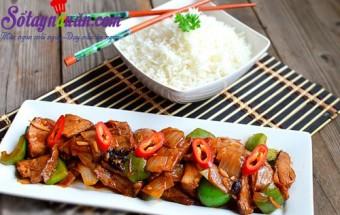 Nấu ăn món ngon mỗi ngày với Ớt chuông,