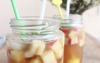 Nấu ăn món ngon mỗi ngày với Trà túi lọc, Trà táo mật ong