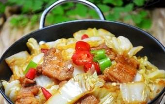 Nấu ăn món ngon mỗi ngày với Thịt ba chỉ, Cải thảo xào thịt