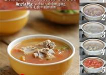 Món sườn nấu canh chua