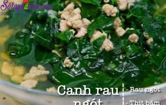 nấu canh ngon, Canh rau ngót nấu thịt