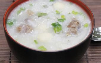 Nấu ăn món ngon mỗi ngày với Gạo tẻ, Cháo bắp bò hạt sen