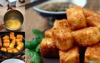 Nấu ăn món ngon mỗi ngày với Bột mì, Đậu phụ chiên xù