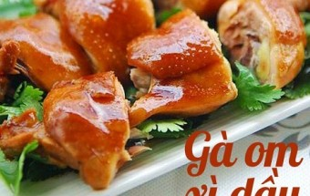 Nấu ăn món ngon mỗi ngày với Đùi gà, Gà om xì dầu