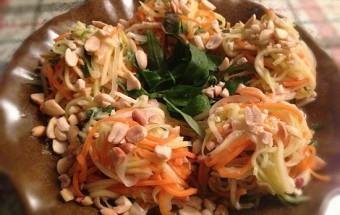 Nấu ăn món ngon mỗi ngày với Xoài xanh, Gỏi xoài xanh mực khô