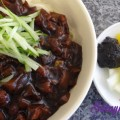 canh thịt nấm, Mỳ tương đen Hàn Quốc