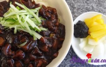 Món ăn tây, Mỳ tương đen Hàn Quốc