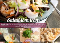 Salad tôm trộn