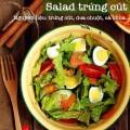 món ngon từ bưởi, Salad trứng cút