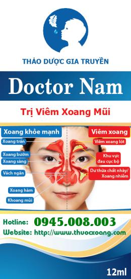 thuoc chua viem xoang Doctor Nam