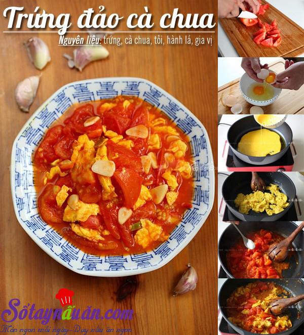 Trứng đảo cà chua 1