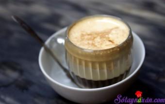 Nấu ăn món ngon mỗi ngày với Sữa đặc có đường, Tự làm cà phê trứng