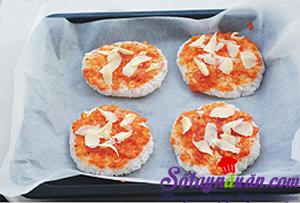 Tự làm cơm theo kiểu pizza 1