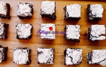 Làm bánh ngọt, Cách làm bánh Brownies