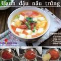 nấu ăn, Canh đậu phụ nấu trứng