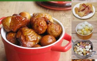 Nấu ăn món ngon mỗi ngày với Trứng cút, Gà kho trứng cút đậm đà