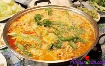Nấu ăn món ngon mỗi ngày với Cua đồng, Lâu riêu măng chua