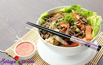, Mỳ trộn salad Thái hấp dẫn