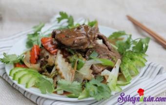 cơm ngon mỗi ngày, Thịt bò sốt rau củ đậm đà