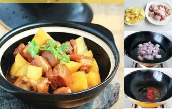 Nấu ăn món ngon mỗi ngày với Khoai tây, Thịt kho khoai tây