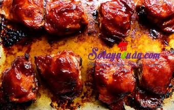 Nấu ăn món ngon mỗi ngày với Đùi gà, cách làm đùi gà nướng BBQ
